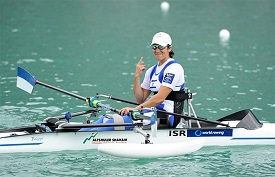 Moran Samuel, Israeli Paralympic Rower