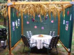 Breakfast In The Sukkah