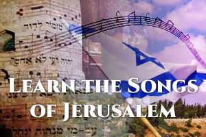 SING A SONG OF JERUSALEM