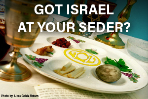 Got Israel at Your Seder?