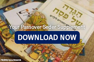 Incorporate Israel at your Passover Seder (supplementary reading)