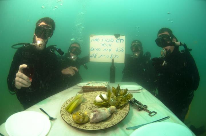 Happy Passover from the Israeli Navy, credit: IDF tumblr