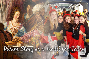 Celebrated for Action: Purim Story as a model for today
