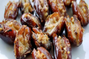 Candied Stuffed Dates