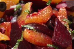 Moroccan Beet Citrus Salad