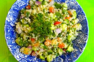 Quinoa Taboulleh