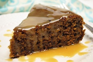 Spiced Israeli Honey Date Cake