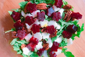 Star Sukkot Salad