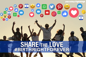 Share the Love of #BirthrightForever