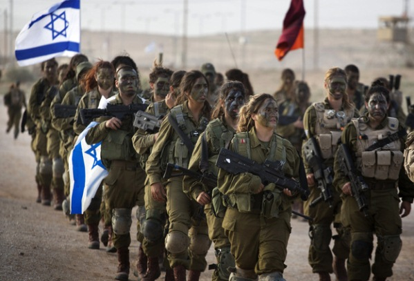 Women Soldiers of Israel's 33rd Caracal Battalion