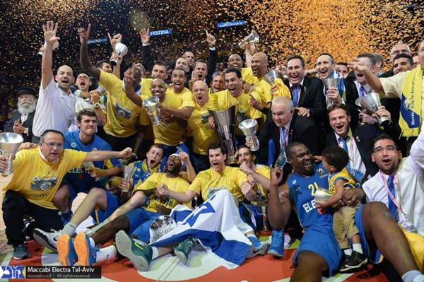 Maccabi defeated Real Madrid for their fifth Euroleague Basketball title!