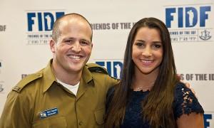 Aly Raisman, IDF