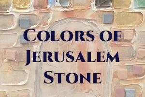 Colors of Jerusalem Stone