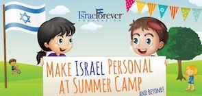 Make Israel Personal at Summer Camp