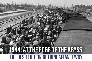 1944 At the Edge of The Abyss - Holocaust Memorial Program