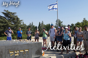 MY HERZL - ACTIVITIES