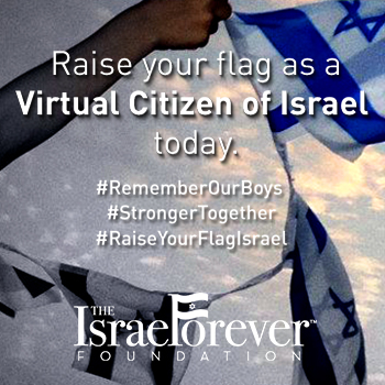 Raise Your Flag in Memory of #EyalGiladNaftali