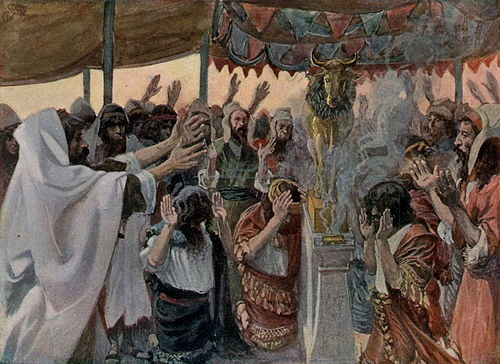 James Tissot, The Golden Calf 1896-1902