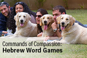 Commands of Compassion: Hebrew Word Games