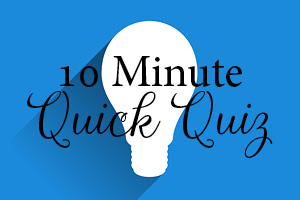 10 Minute Balfour Quiz