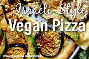 BEST ISRAELI-STYLE VEGAN PIZZA RECIPE