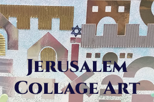 Jerusalem Collage Art