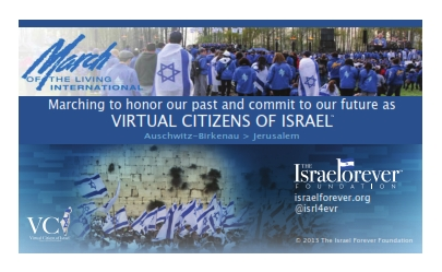 March Of The Living Virtual Citizen of Israel™