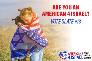 VCI Vote as Americans4Israel