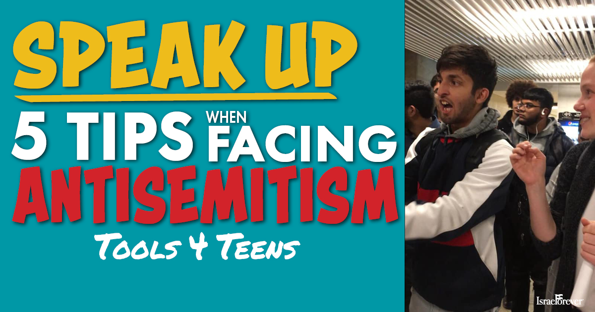 Tips for teens facing antisemitism ACTIVITY