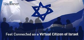 Declare yourself a Virtual Citizen of Israel Today
